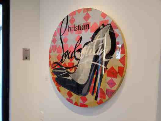 curated art exhibition at eggersmann dallas featured wall art by robert mars