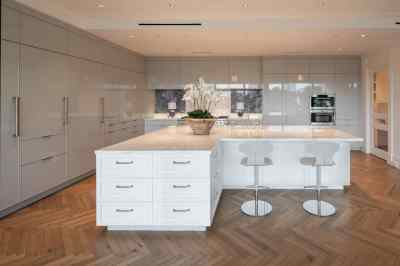Valencia High Gloss Shell | Nizza matt lacquer white