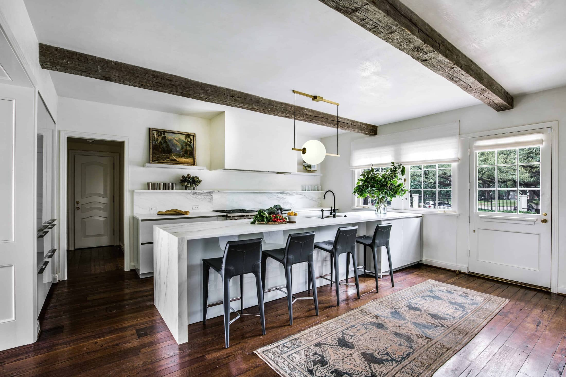 Eggersmann Kitchen Part of a Remodel Featured in LuxeDaily