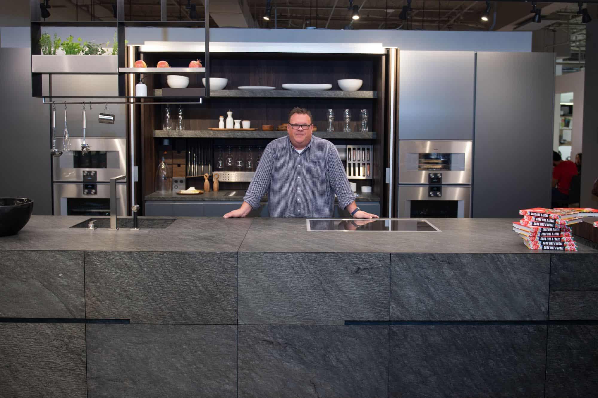 Award Winning Chef Chris Shepherd visits eggersmann Houston