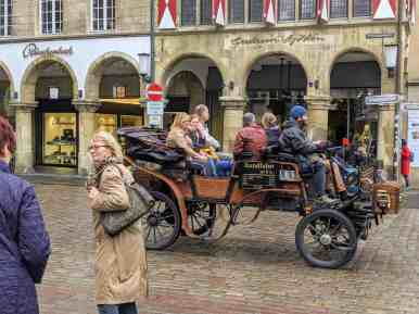 carriage ride in muenster germany