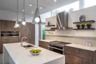 main kitchen by eggersmann in a renovation of a washington coalition memorial park area home in houston