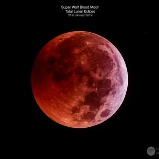 Super Wolf Blood Moon, Total Lunar Eclipse 2019