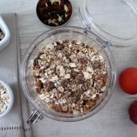 Recipe Redux: Apricot & Roasted Hazelnut To-Go Oats
