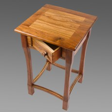 Lamp Table - Red Elm