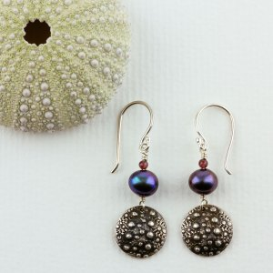 Earrings, Seashore