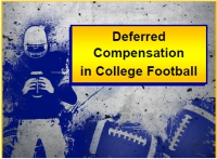 Deferred Compensation in College Football