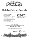 Holiday Catering Special Christmas is 5 Days Away
