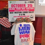 Event: Lehigh Valley Elite Network proudly supports the American Cancer Society  BLING YOUR BRA AUCTION - Oct 25 @ 6:00pm