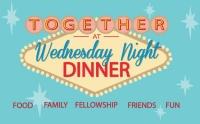 Wednesday Night Dinners Menu May 10th 2017