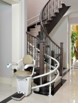 Yes, We can Install a Curved Stair Lift for your Home