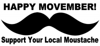 November is now Movember