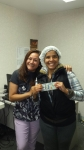 Ayalivy Plasencia Receives her $100 Bonus