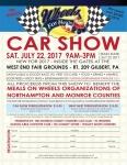 Event: Wheels for Meals Car Show and Swap Meet - Jul 22 @ 9:00am