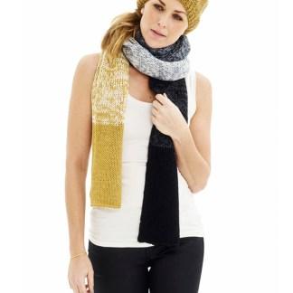 d2d3e4df76f Du ser på: Halstørklæde med dipdyeeffekt – GRATIS opskrift fra ONION DKK  30,00