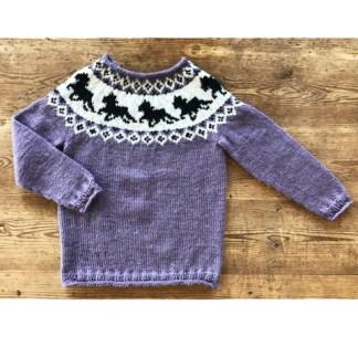 Heste trøje : No. 4 Organic Wool + Nettles