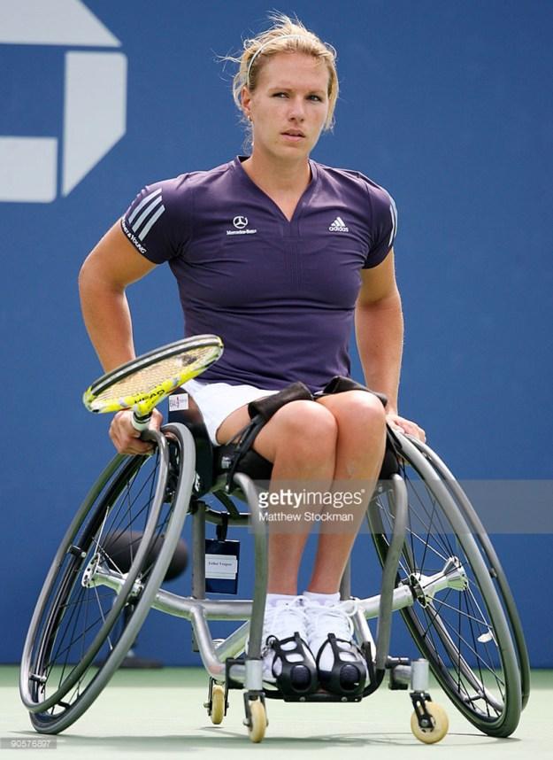 Esther Vergeer US Open 2009