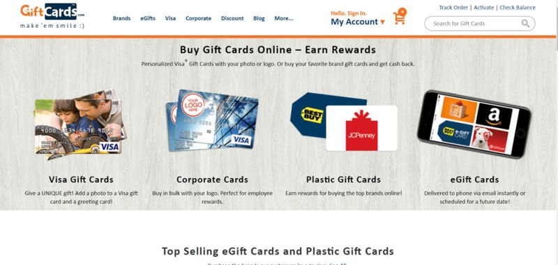 15 Trusted Sites to buy Gift Cards Online at Any Time from