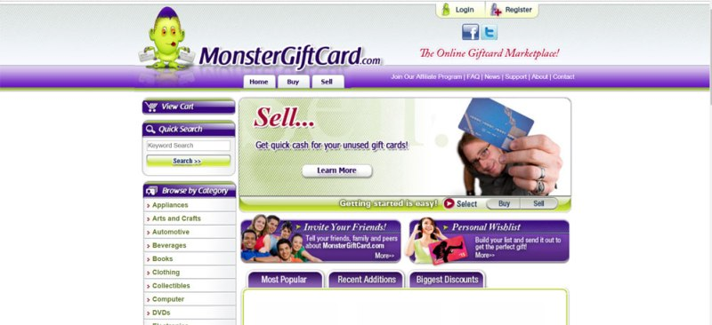Monstergiftcard