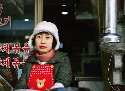 Korean BBQ Lady