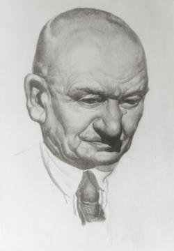 Figure-2-Portrait-au-crayon-d-Yvan-Fedorovitch-Krug