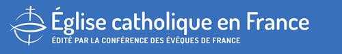 Logo site Eglise catholique en France