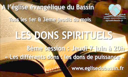 Etude biblique : Les dons spirituels