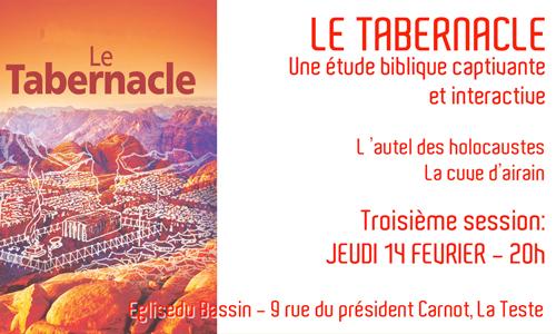 Le Tabernacle – Session 3