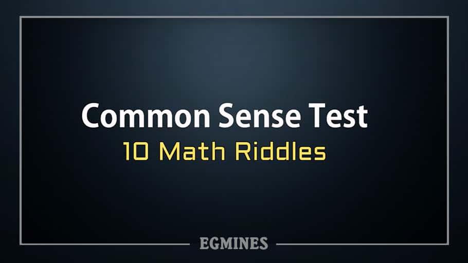 EILEEN: Common sense mathematics