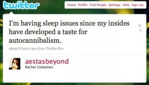 Autocannibalisme twitté