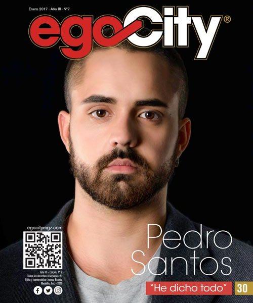 Pedro Santos en la revista GAY Colombia