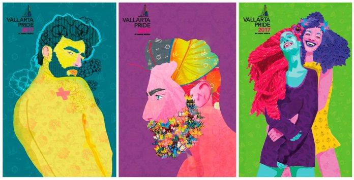 Obras de Daniel Arzola Pride Puerto Vallarta