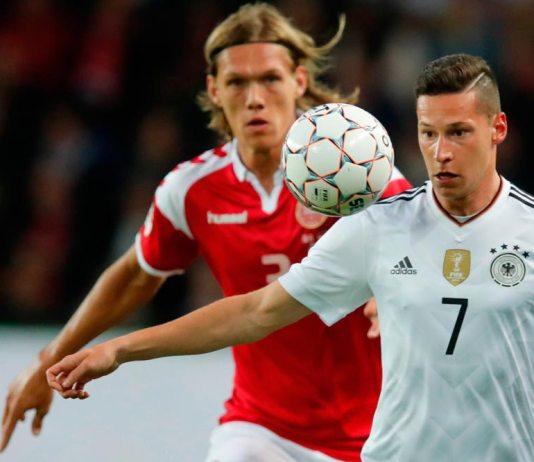 Capitanes de Dinamarca y Alemania lucieron el arcoíris en partido