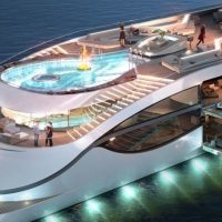 The most expensive and most luxurious YACHT IN THE WORLD!