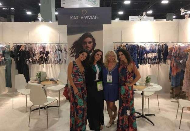 Este é o terceiro ano que a marca expõe seus produtos na maior feira do segmento de moda praia do mundo -Foto Divulgação - Xs Excesss Comunicação