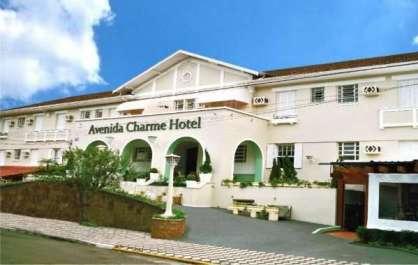O hotel está localizado em uma bela estância turística do interior de SP - Foto: Divulgação