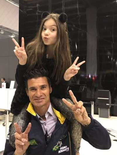 Fábio Rodarte, e Valenthina - Foto: Divulgação