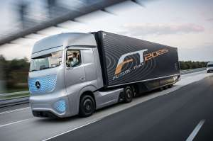 mercedes-benz-future-truck-2025-front-three-quarters-in-motion-view Title category