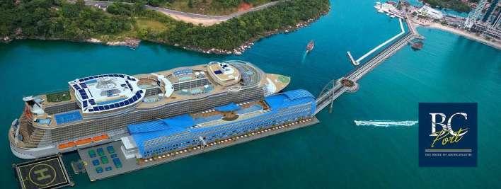 BC Port projeto em Balneário Camboriú - Foto Divulgação página facebook/bcport