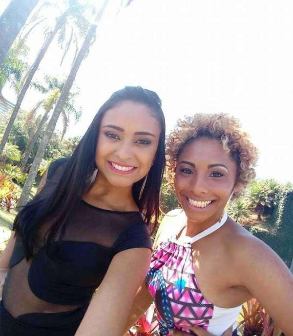 Modelo Bruna Santos e Jenifer Gonzales - Foto: Divulgação - Lau Moreno Produções