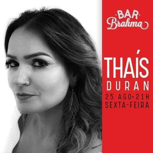 Bar Brahma Thais Duran - Foto - Divulgação