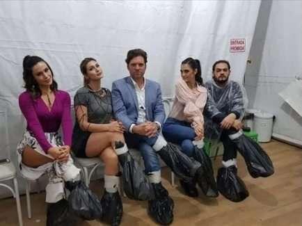 Foto- Reprodução Instagram: Nadja Haddad, Livia Andrade, Carlos Bertolazzi, Chris Flores, Matheus Ceará.