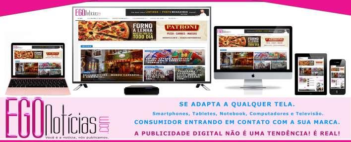 Egonoticias o portal que se adapta a qualquer tela - Foto Divulgação