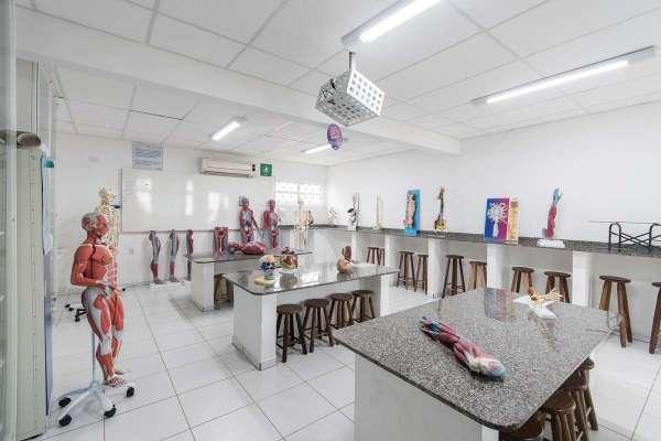 Laboratório de Anatomofisiologia - Foto: Divulgação