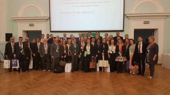 Delegação na Rússia - Foto: Divulgação