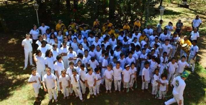 Projeto social Capoeiristas do Amanhã - Divulgação
