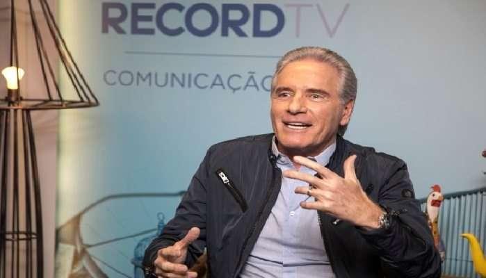 Foto: reprodução internet Roberto Justus comanda A Fazenda — Nova Chance na tela da Record TV