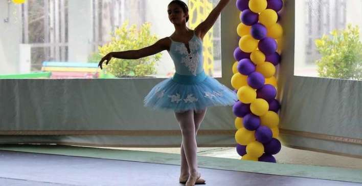 Bailarina Maria Eduarda - Foto Fernanda Volpato