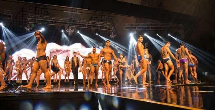 WBFF reuniu atletas fitness - Divulgação