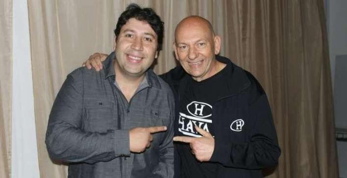 Mohamad com o empresário Luciano Hang - Foto: Roberta Watzko Divulgação